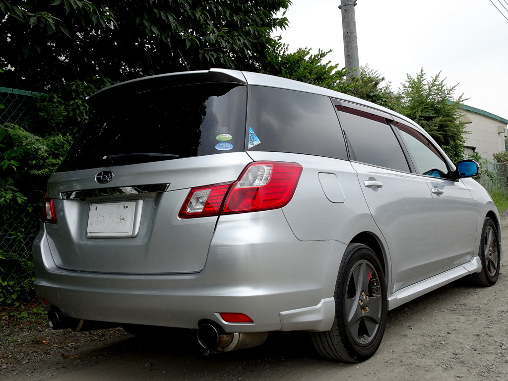 4WD ターボ エクシーガ 2.0GT HDDナビ 地デジTV バックモニター ガラスルーフ SIドライブ スマートキー クルーズコントロール HID ETC_画像4