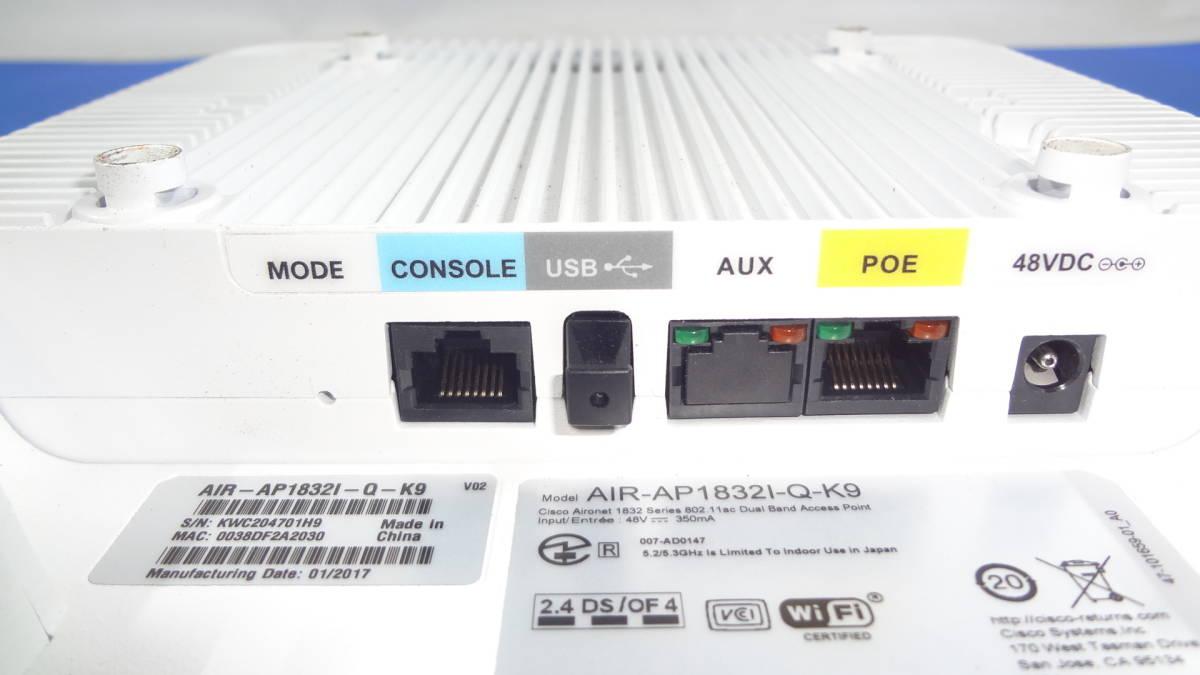 激安1円スタート Cisco 無線LAN中継機 Systems Cisco Aironet 1830 AIR-AP1832I-Q-K9 中古動作品_画像3