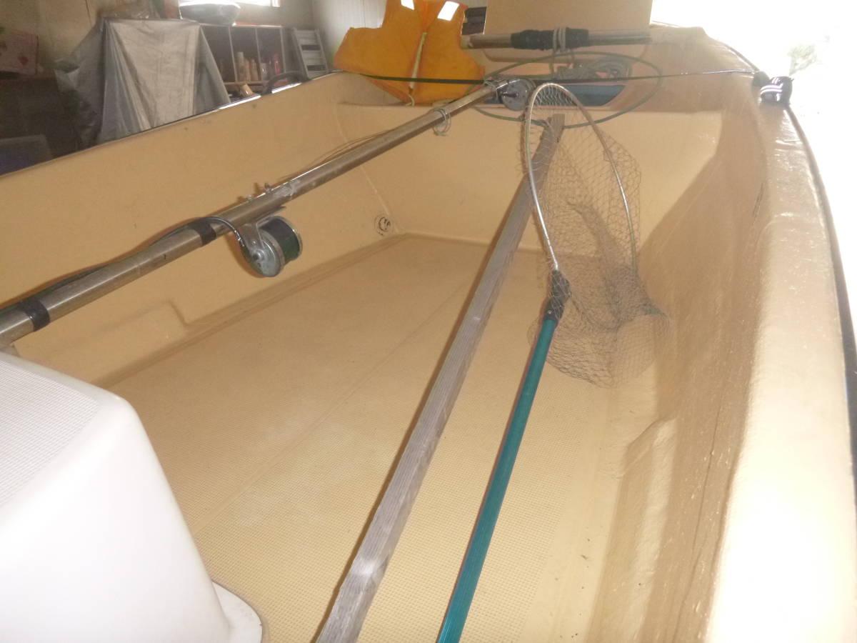 釣り船(和船・ヤマハ) トレーラー付き 即使用可_画像7