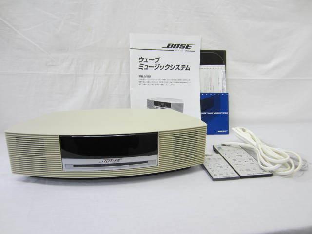 BOSE ボーズ 【WaveMusicSystem】 ウェーブミュージックシステム AWRCCC ジャンク 説明書・リモコンあり 中古