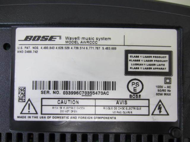 BOSE ボーズ 【WaveMusicSystem】 ウェーブミュージックシステム 音出し確認済 リモコン・説明書・保証書あり_画像6