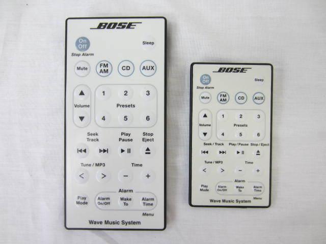 BOSE ボーズ 【WaveMusicSystem】 ウェーブミュージックシステム 音出し確認済 リモコン・説明書・保証書あり_画像8