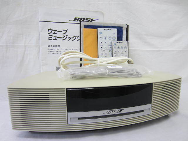 BOSE ボーズ 【WaveMusicSystem】 ウェーブミュージックシステム 音出し確認済 リモコン・説明書・保証書あり