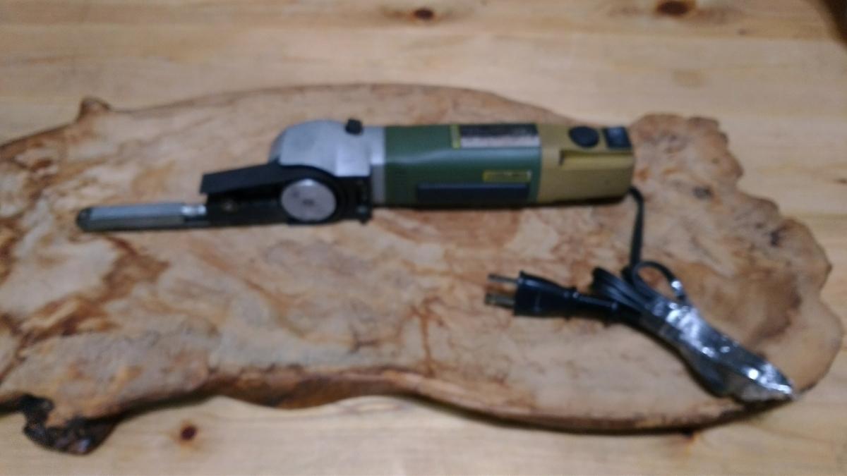 動作確認済 プロクソン PROXXON マイクロベルトサンダー No.28536 木工細工/金属仕上げ 狭い場所の加工に