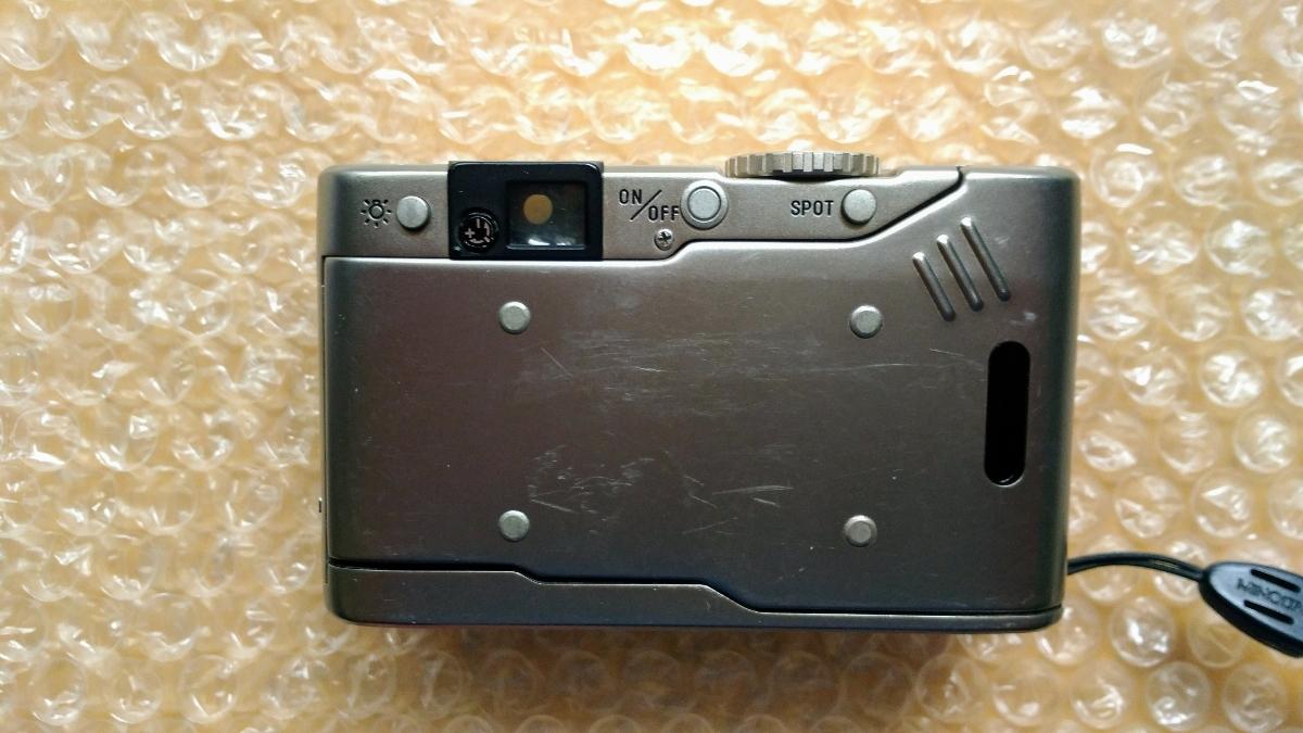 MINOLTA ミノルタ TC-1 ジャンク フイルム コンパクトカメラ_画像6