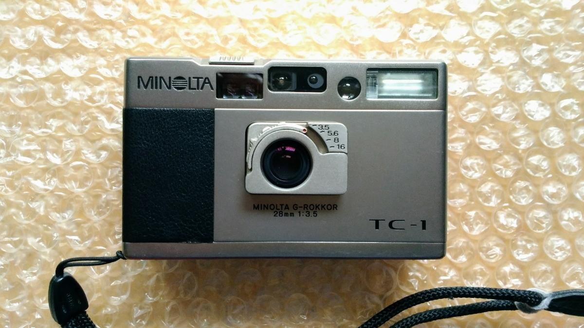 MINOLTA ミノルタ TC-1 ジャンク フイルム コンパクトカメラ_画像2