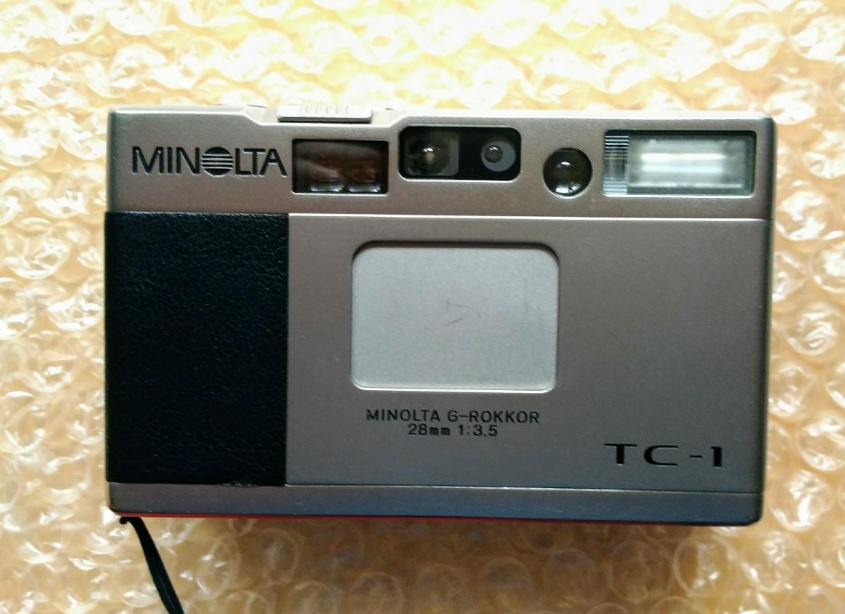 MINOLTA ミノルタ TC-1 ジャンク フイルム コンパクトカメラ