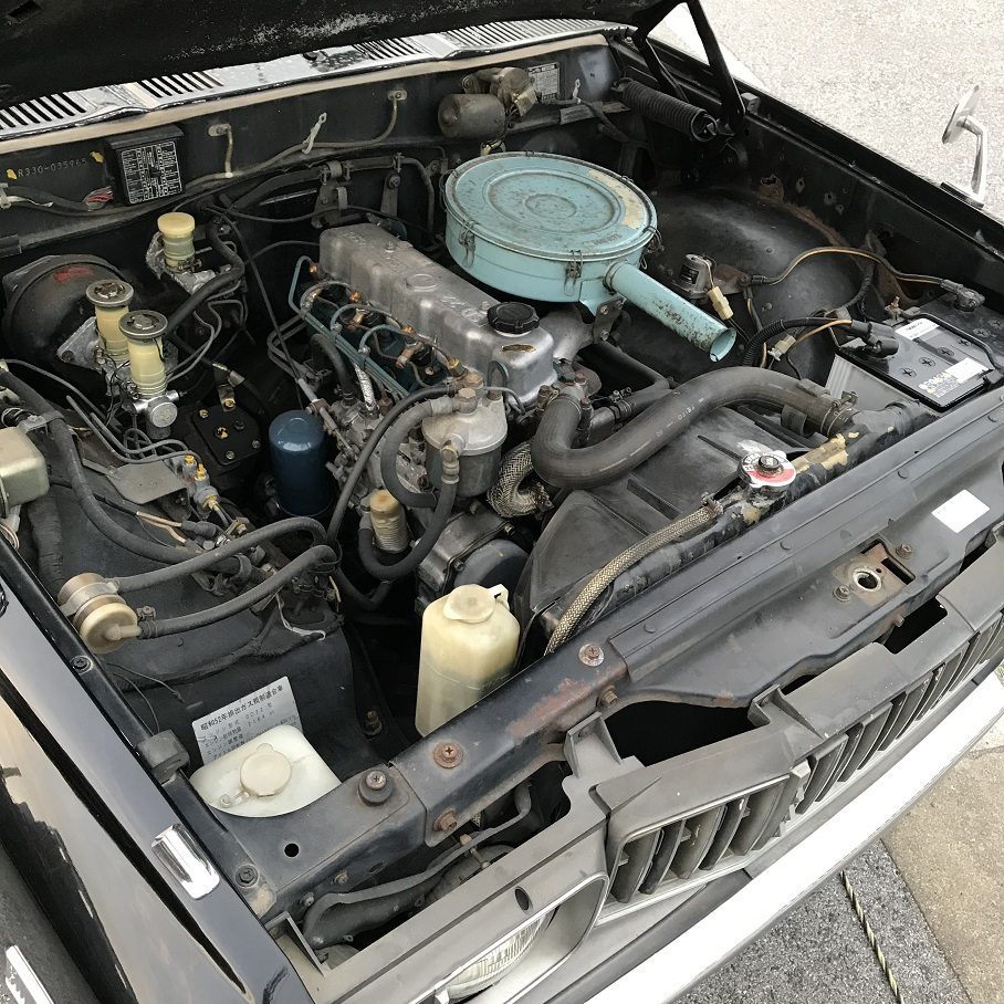 日産ディーゼルSD22エンジン搭載