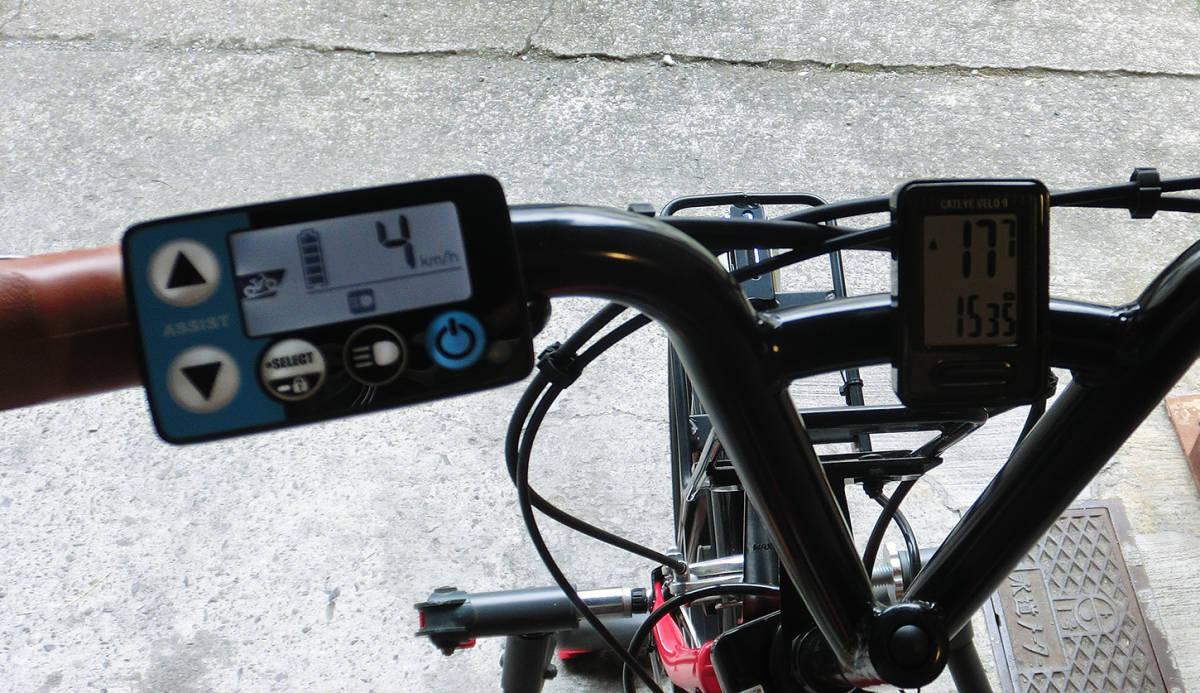 ★改速アシスト ヤマハ PAS CITY-C 20インチ バッテリー12.3Ah リミッターカット カスタム改造電動自転車 2019年4月購入_画像8