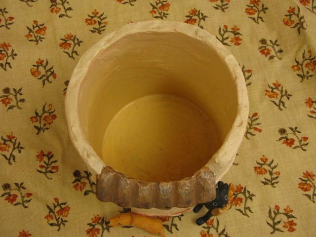 ガーデンポット クロネコ プロヴァンス プランターカバー レジン製 植木鉢 セトクラフト 鉢植え かわいい植木鉢_内径の直径は12CMあります