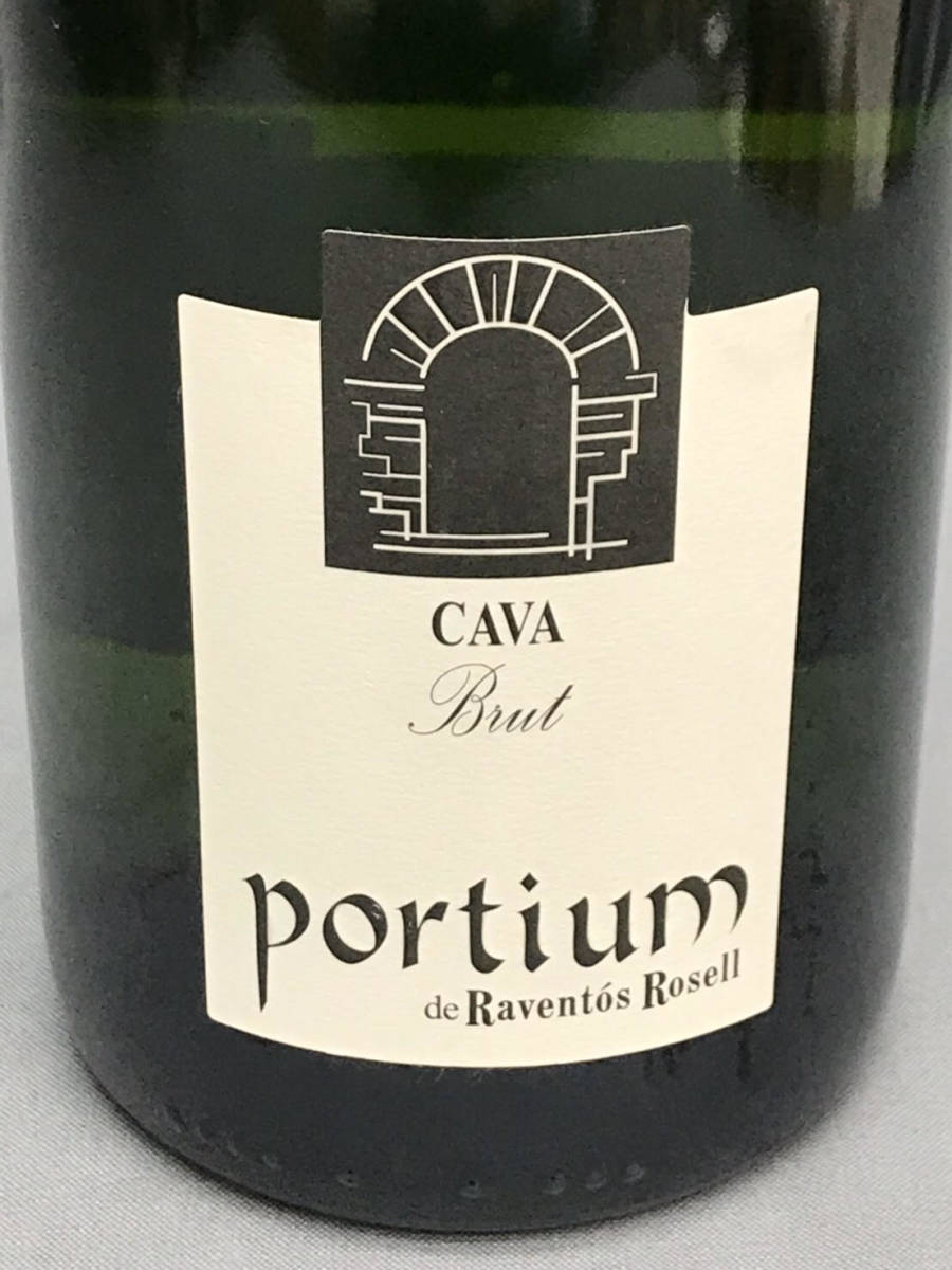 ★未開栓★Portium Cava Brut カヴァ ブリュット 750ml 11.5% スパークリングワイン 古酒_画像2