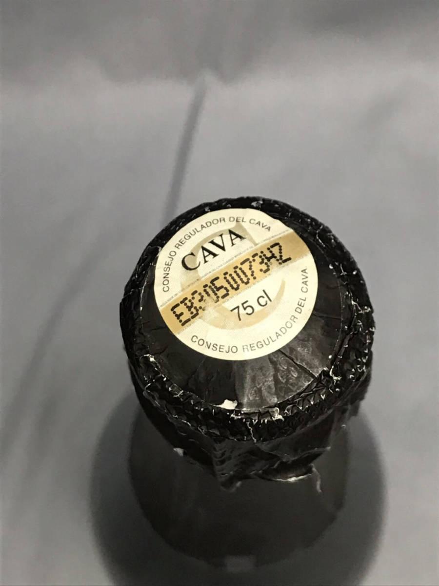 ★未開栓★Portium Cava Brut カヴァ ブリュット 750ml 11.5% スパークリングワイン 古酒_画像7