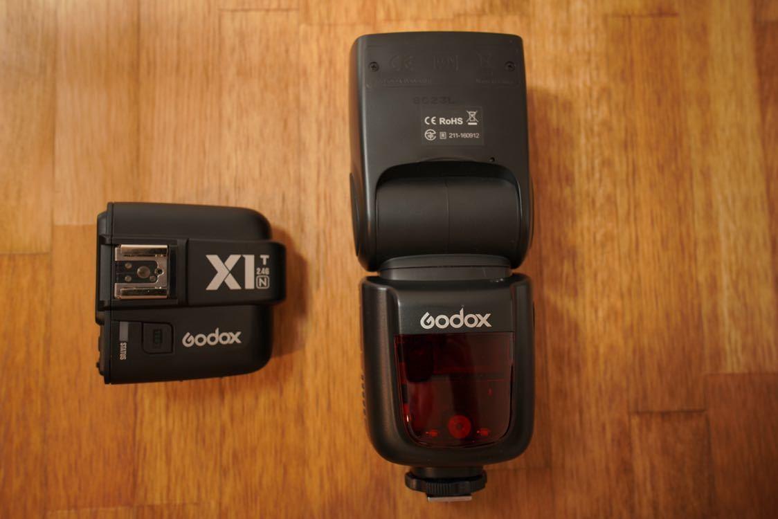 Godox Nikon v860Ⅱn x1t-n ワイヤレス_画像2