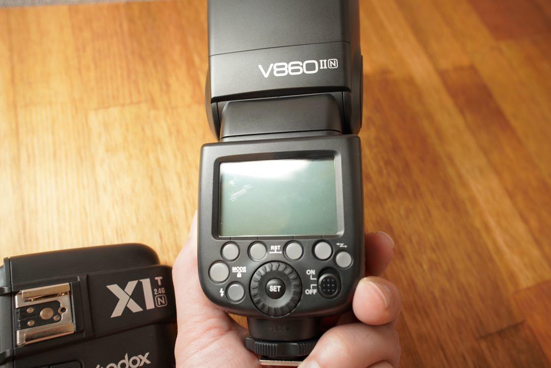Godox Nikon v860Ⅱn x1t-n ワイヤレス_画像3