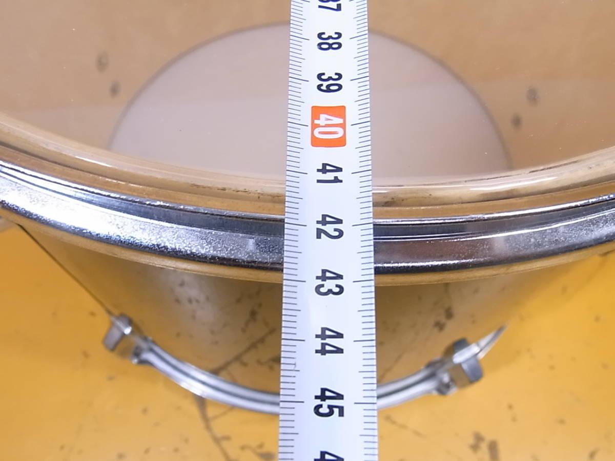□L/525★タムドラム 17インチ?☆直径43cm 高さ39.5cm☆メーカー/型番不明☆中古品_画像6