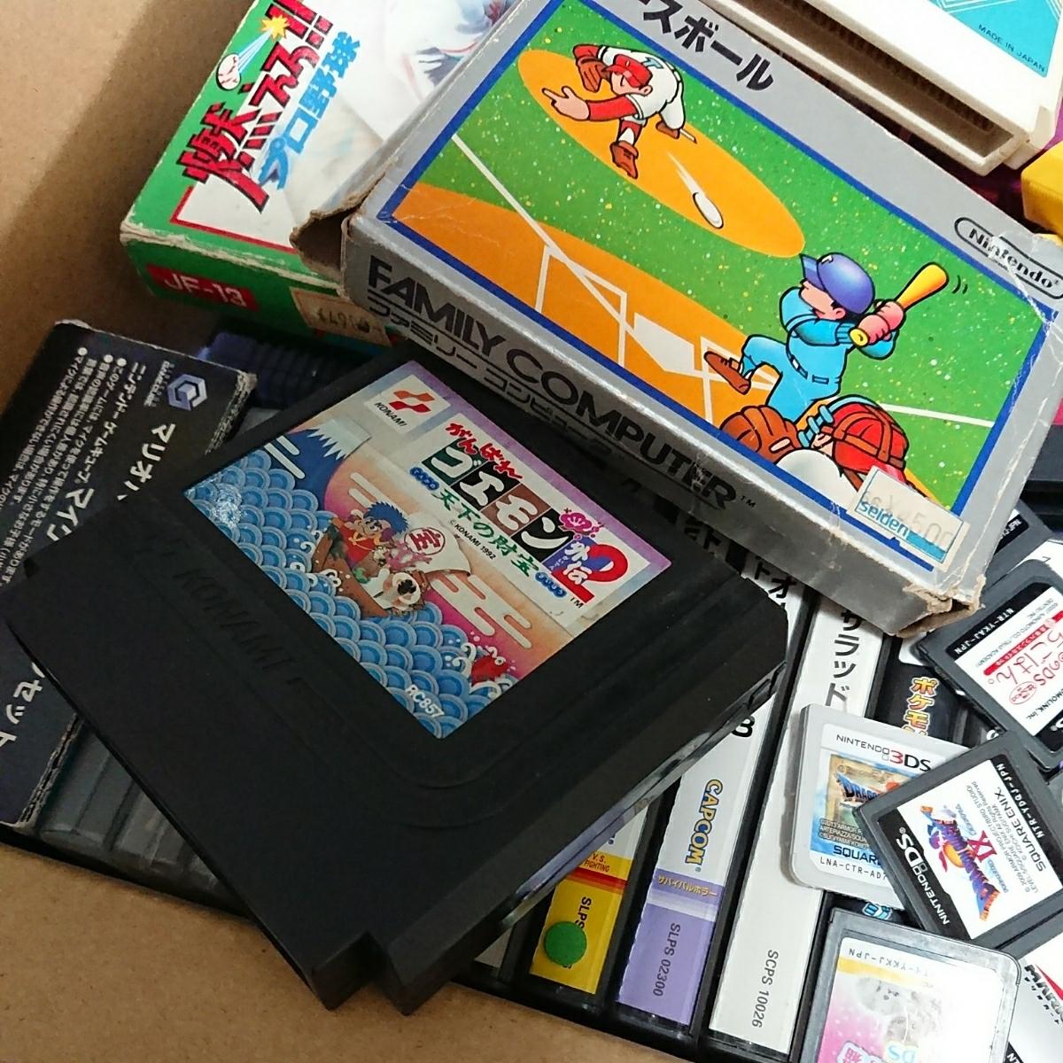 ゲームソフト大量 FC,GB,GBA,DS,3DS,PSP,PSVITA,などまとめて!!ジャンク品 管理No.007_画像3