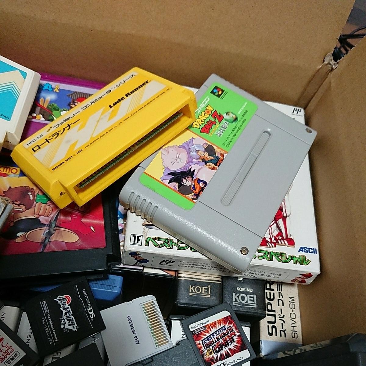 ゲームソフト大量 FC,GB,GBA,DS,3DS,PSP,PSVITA,などまとめて!!ジャンク品 管理No.007_画像6