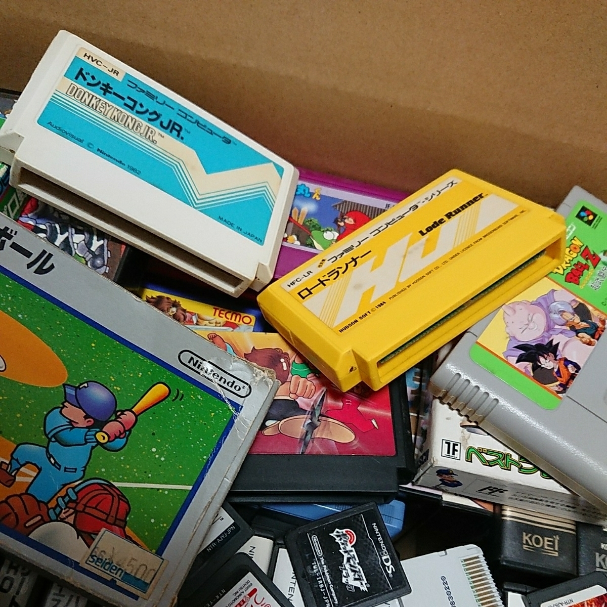 ゲームソフト大量 FC,GB,GBA,DS,3DS,PSP,PSVITA,などまとめて!!ジャンク品 管理No.007_画像7