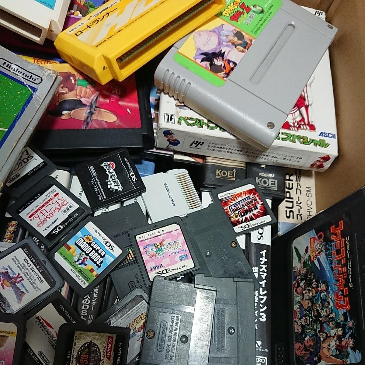 ゲームソフト大量 FC,GB,GBA,DS,3DS,PSP,PSVITA,などまとめて!!ジャンク品 管理No.007_画像5