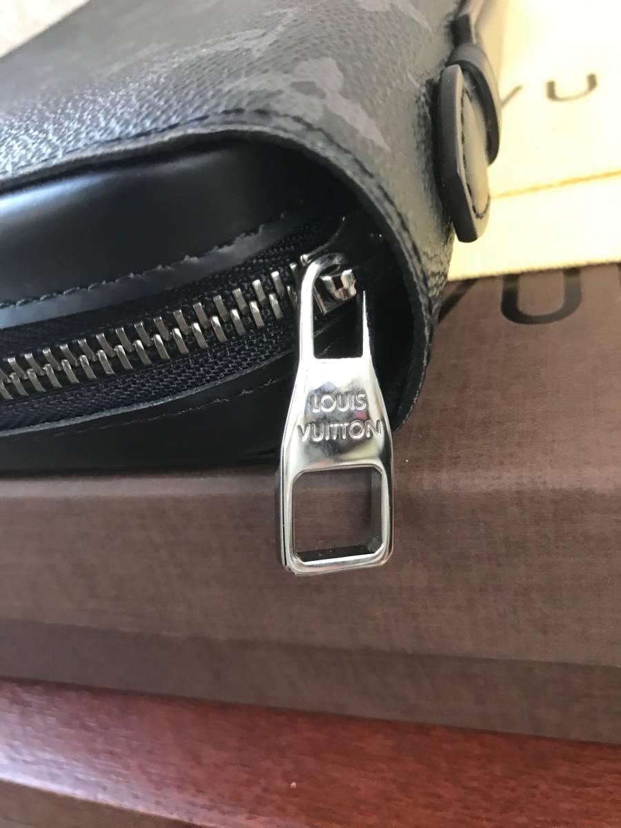新品未使用 ルイヴィトン 長財布 モノグラム・エクリプス ジッピーXL M61698 LOUIS VUITTON _画像2
