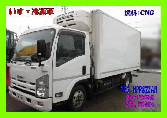 ☆NPR82ZAN,冷凍車,いすゞ,226,500km,トプレック,CNG天然ガス,2013年式,抹消,