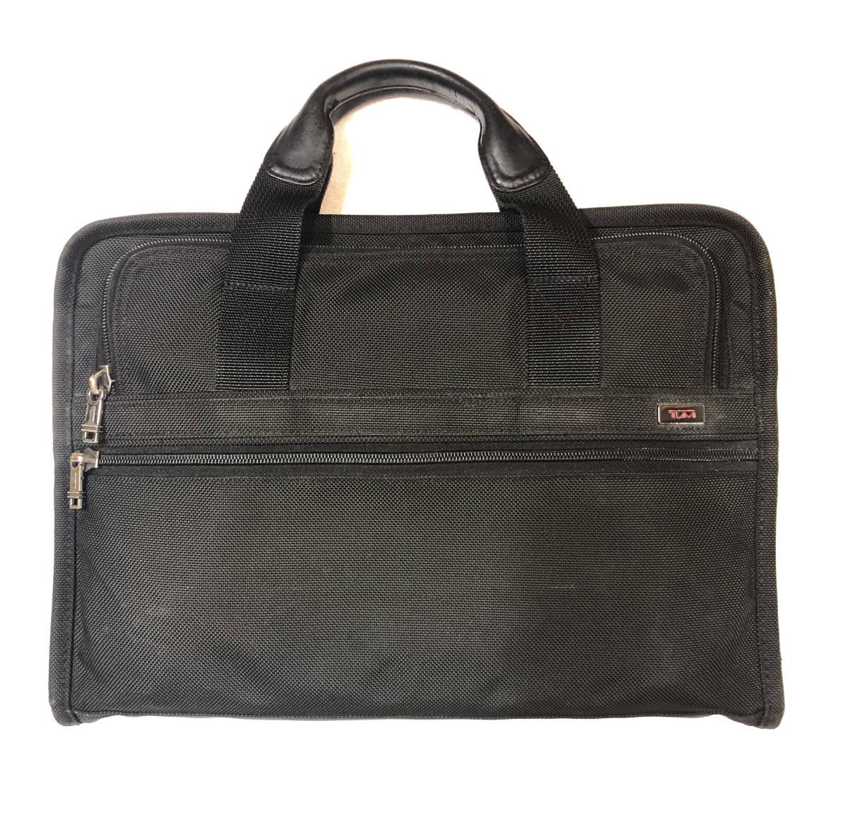 TUMI トゥミ メンズ ブリーフケース ブラック 黒 ビジネスバッグ 中古品