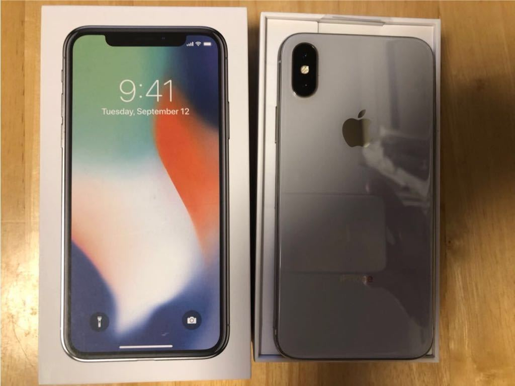 iPhone X SIMロック解除 SIMフリー _画像2