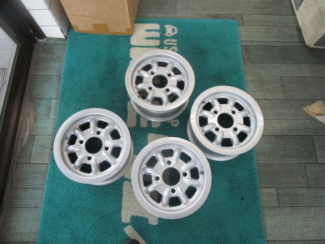 レア物 旧ミニ、ミニクーパー イギリス本国 当時物 10インチ ミニライト 未使用 4本セット