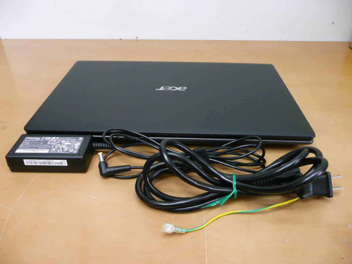 【動作品 現状 中古】 Acer Aspire 5750 Core-i5-2450M 500GB HDD ※画像上が全商品です。_画像2