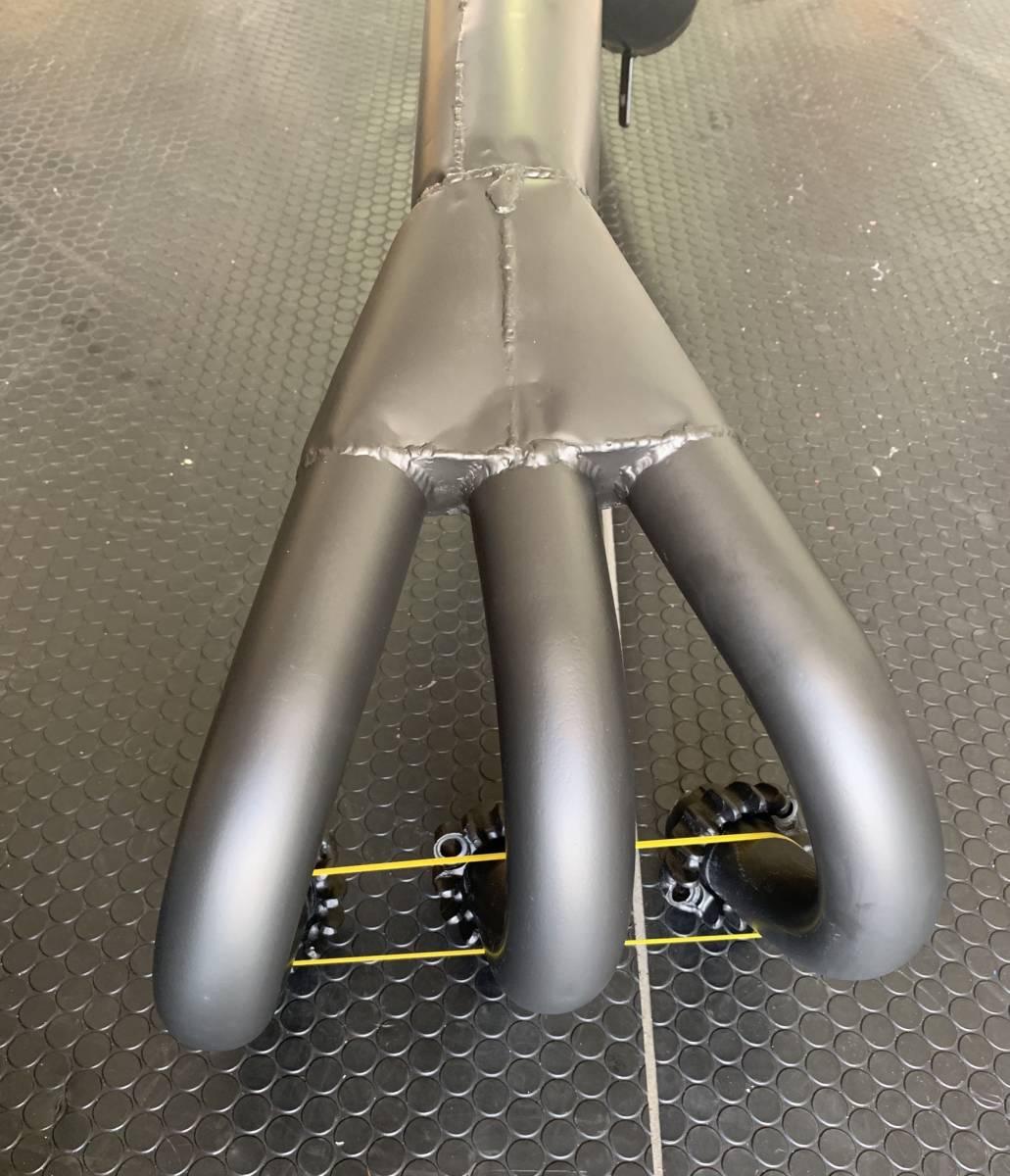 GT380 ロングタレ管 セラコート塗装後未使用 検スガヤ?_画像2