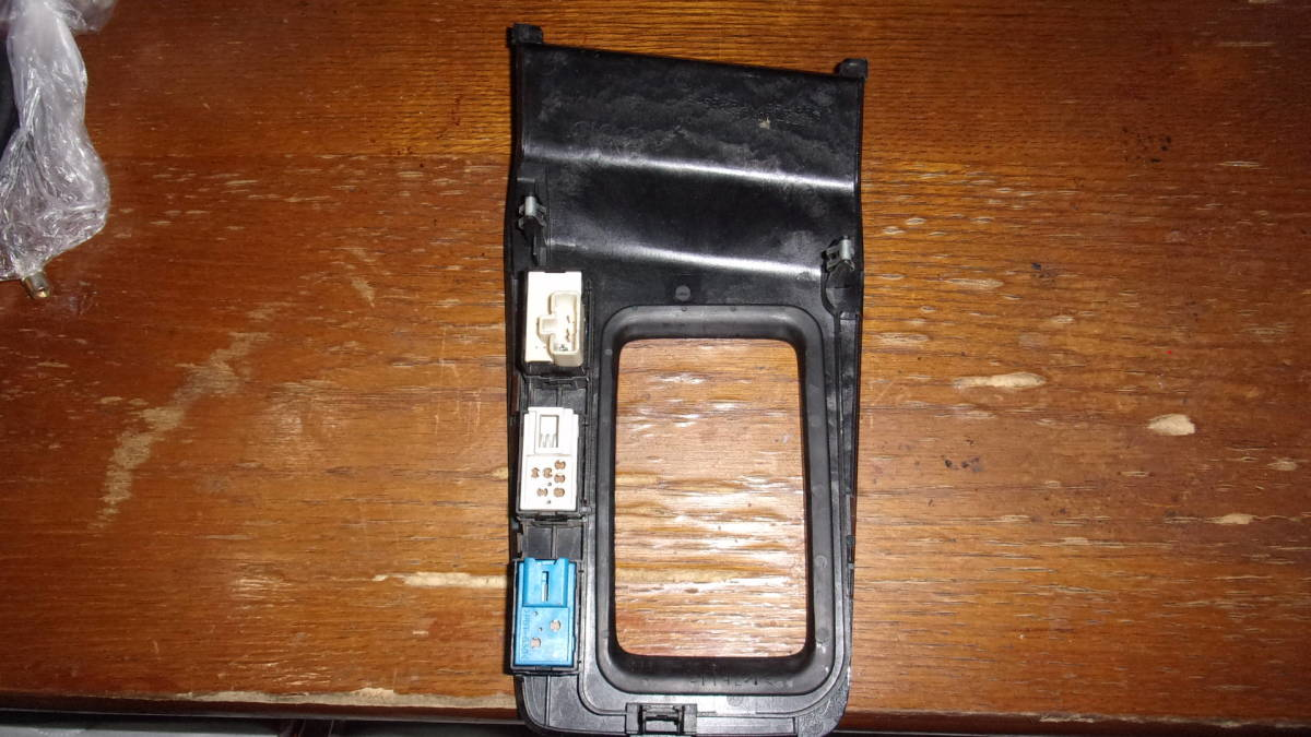 チェイサー ツアラーV JZX100 エスプリ TRD カーボン柄 シフトパネル スイッチ付き 動作確認済み _画像3