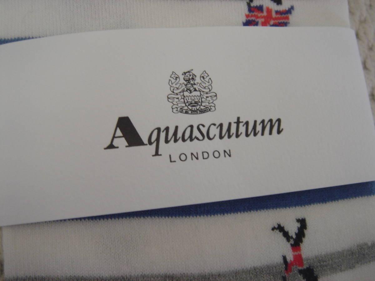 新品、未使用品 Aquascutum アクアスキュータム メンズ スニーカーソックス _画像2