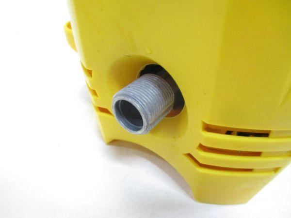□アイリスオーヤマ 高圧洗浄機 FBN-401 軽量 コンパクト 4kg 節水 IRIS OHYAMA 給排水ホース 先端ノズル 説明書付 A-0□_画像4
