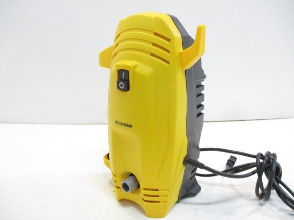 □アイリスオーヤマ 高圧洗浄機 FBN-401 軽量 コンパクト 4kg 節水 IRIS OHYAMA 給排水ホース 先端ノズル 説明書付 A-0□_画像2