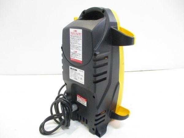 □アイリスオーヤマ 高圧洗浄機 FBN-401 軽量 コンパクト 4kg 節水 IRIS OHYAMA 給排水ホース 先端ノズル 説明書付 A-0□_画像3