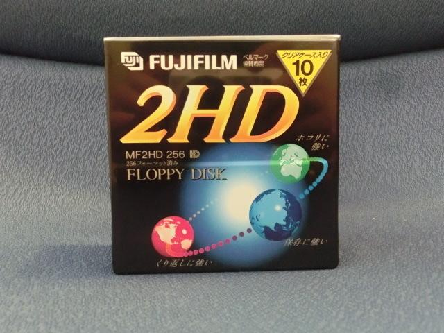 3.5インチフロッピーディスクFUJIFILM MF2HD256 NK10P 9個 未開封_画像2