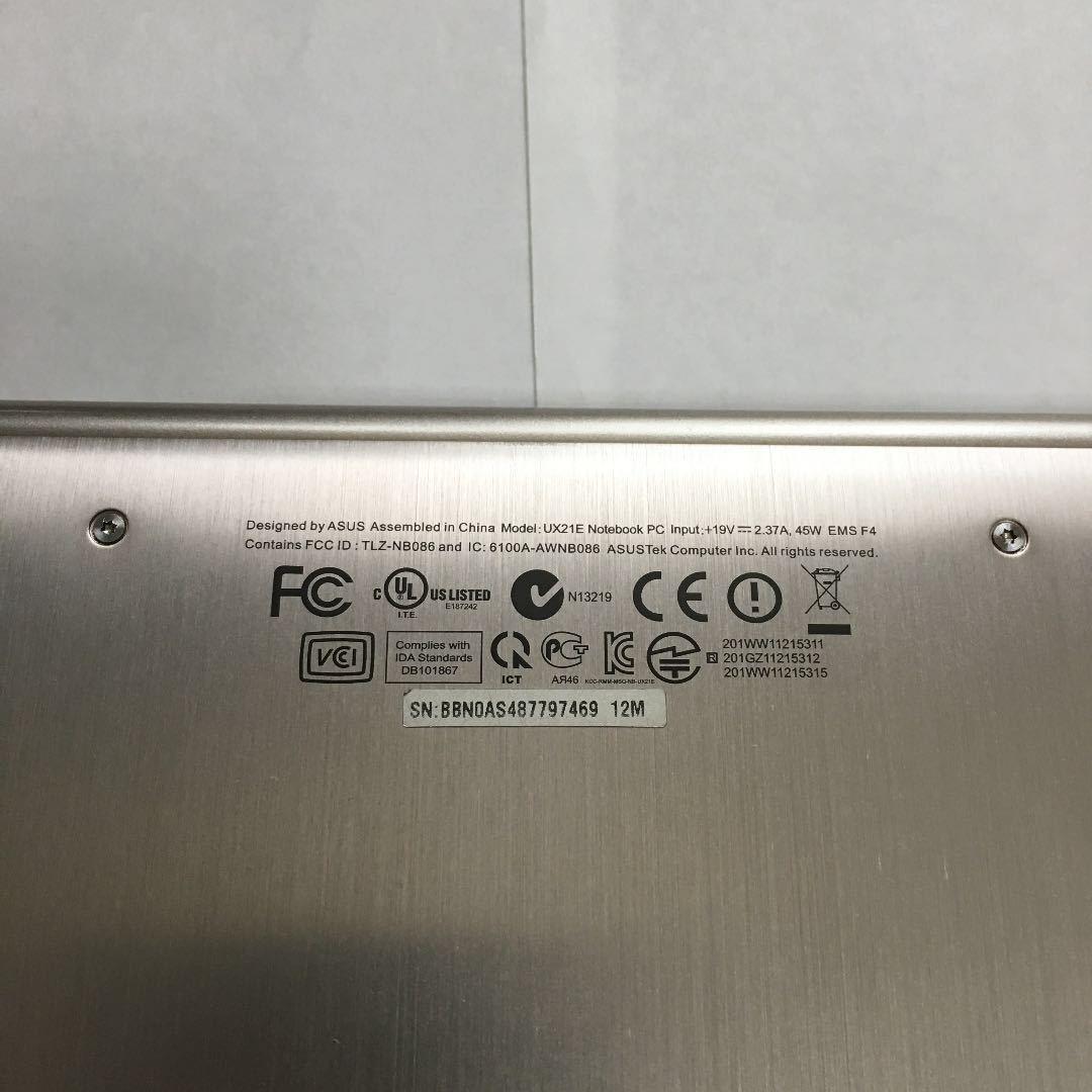 ASUS ZenBook UX21E 11.6インチ Core i7 64GB SSD_画像6
