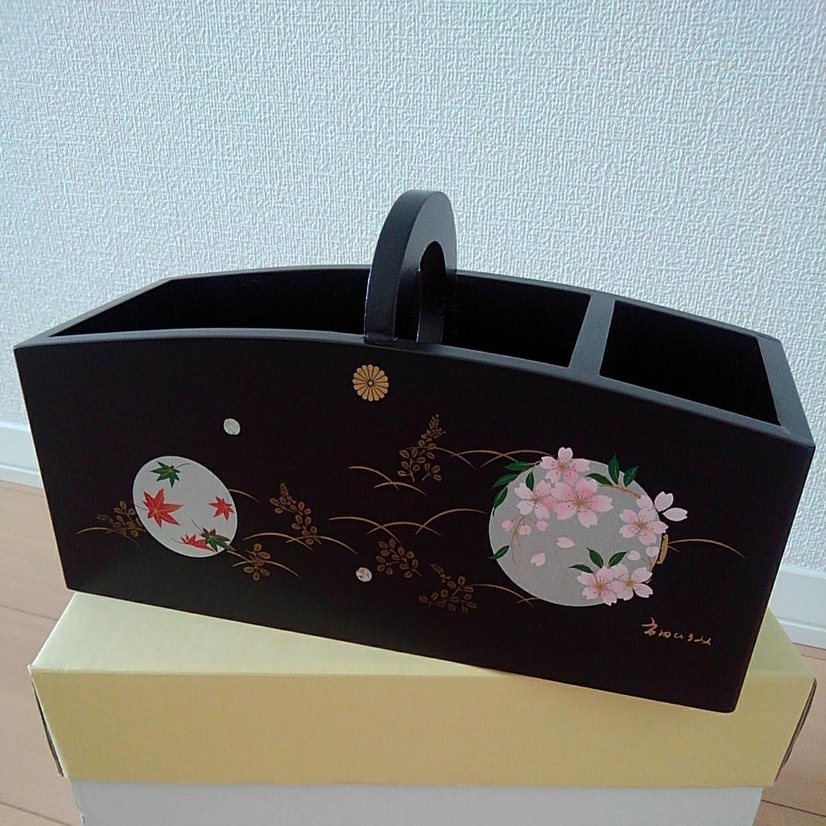 ◇木製リモコンラック 円華 市田ひろみ ぬりものコレクション 未使用◇_画像1