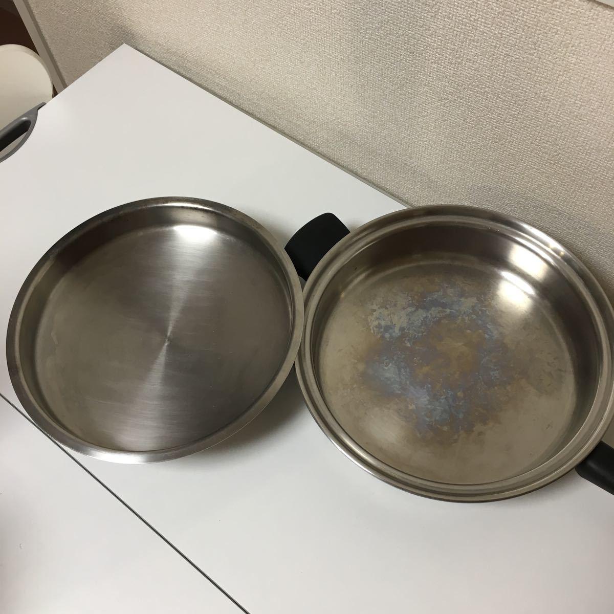 Amwayフライパン☆備品交換済み☆フライパン☆蓋付き_画像6