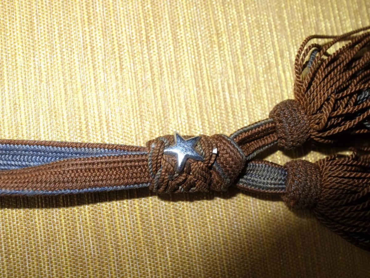 日本陸軍軍刀 刀緒 50cm_画像9