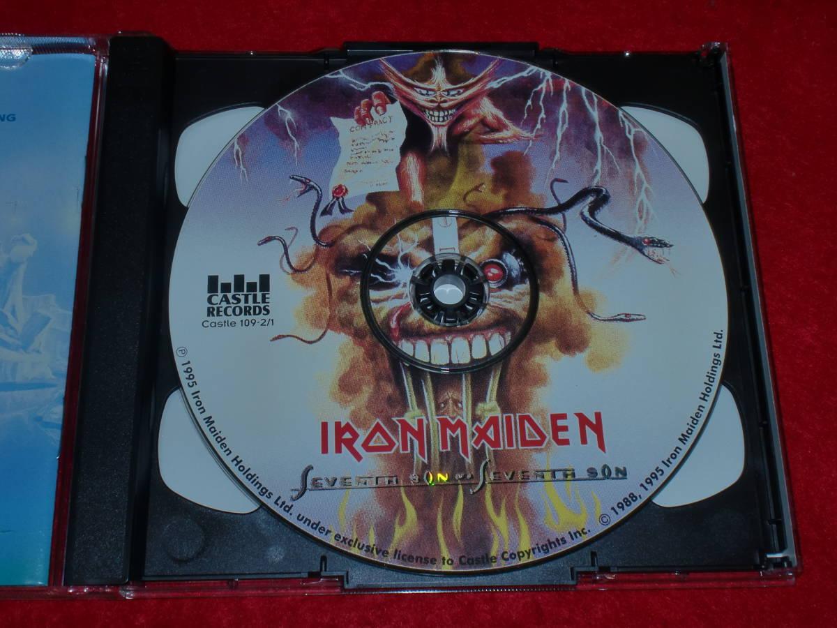 【2CD 帯付リミテッド・エディション】 IRON MAIDEN/Seventh Son Of A Seventh Son_画像2