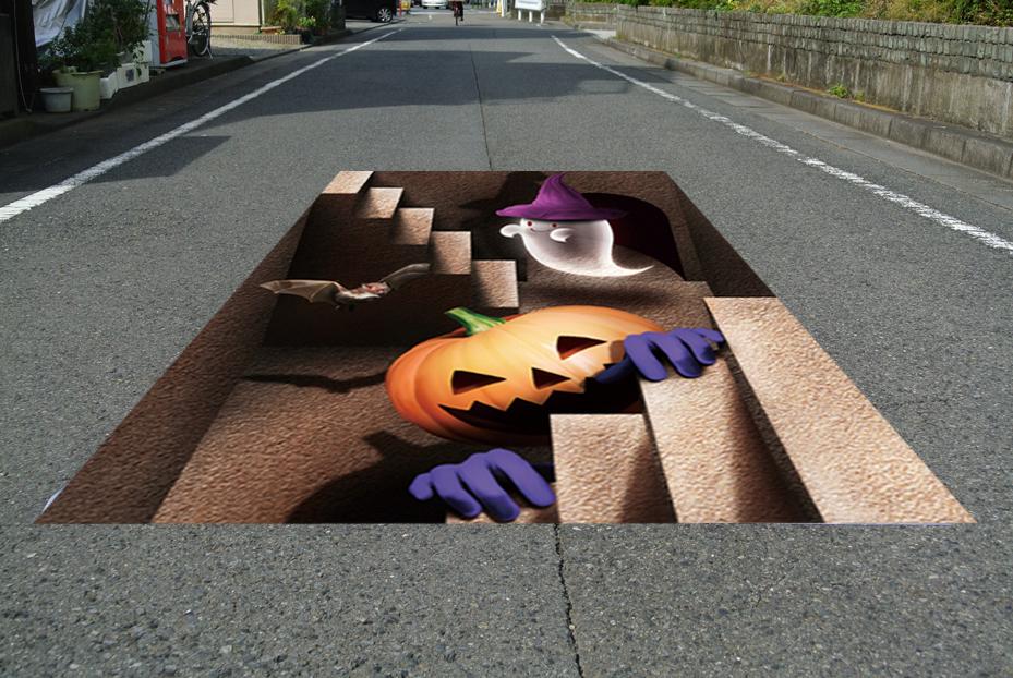 床に敷くだけ簡単設置 3Dストリートアート_画像10
