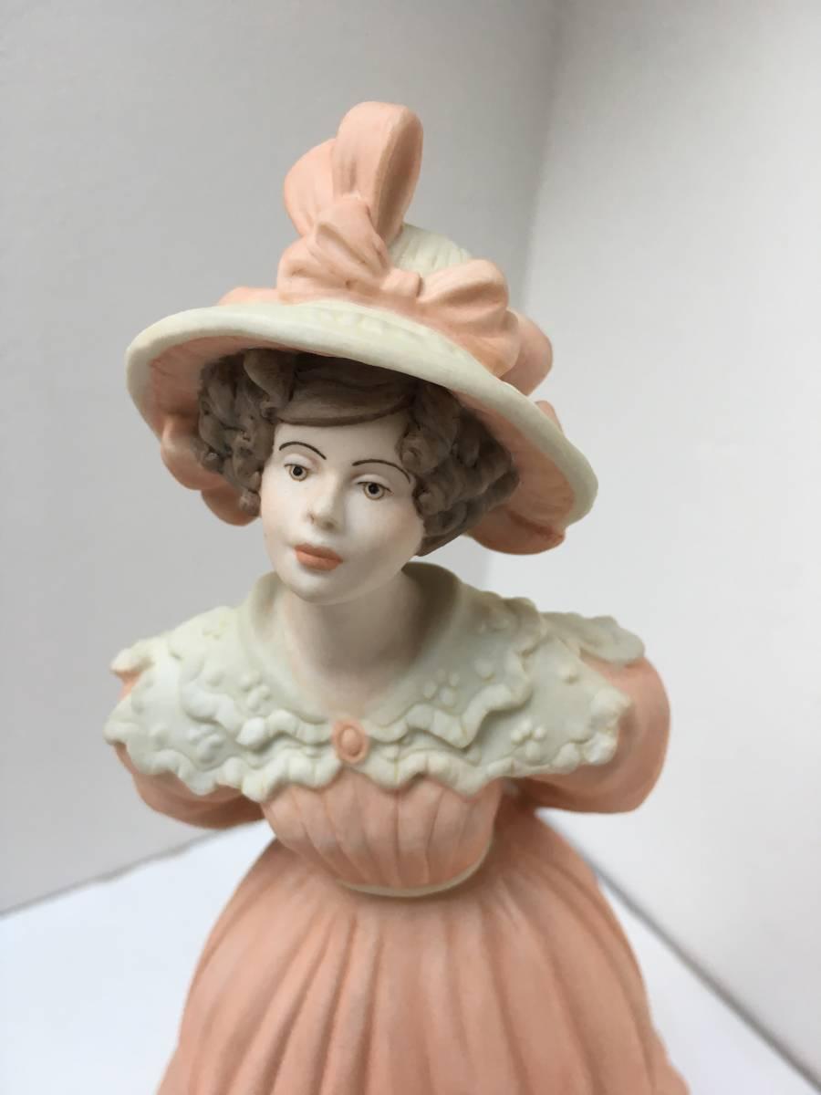 美品 限定品 ウェッジウッド コスチューム キャサリン 貴族 婦人 人形 フィギュリン_画像2