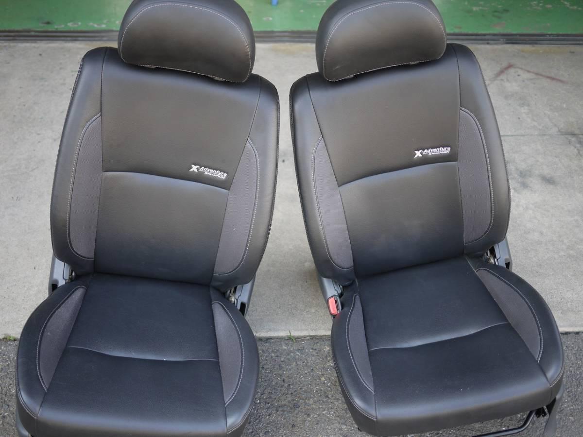 ジムニー JB23W  X-アドベンチャー用 純正シート ヒーター付 運転席、助手席セット 売り切り_画像5