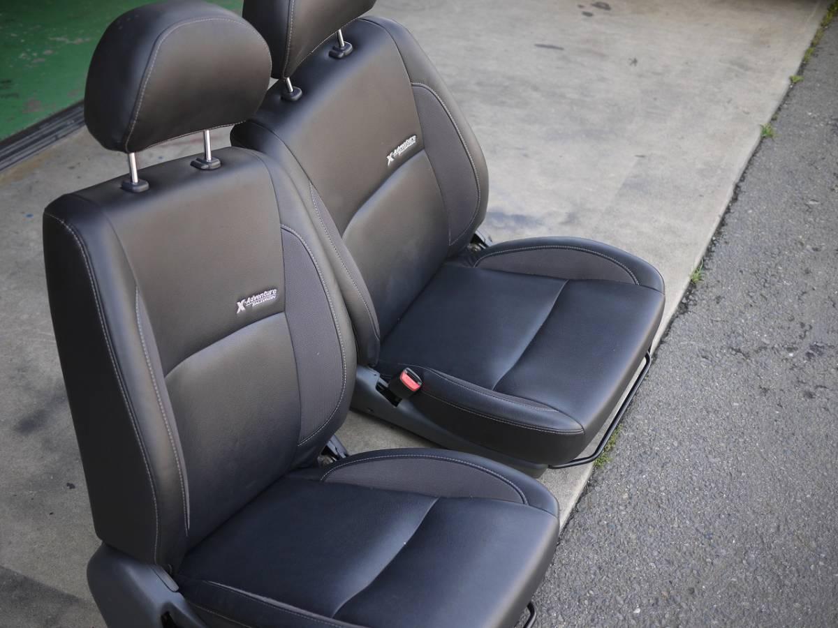 ジムニー JB23W  X-アドベンチャー用 純正シート ヒーター付 運転席、助手席セット 売り切り_画像4