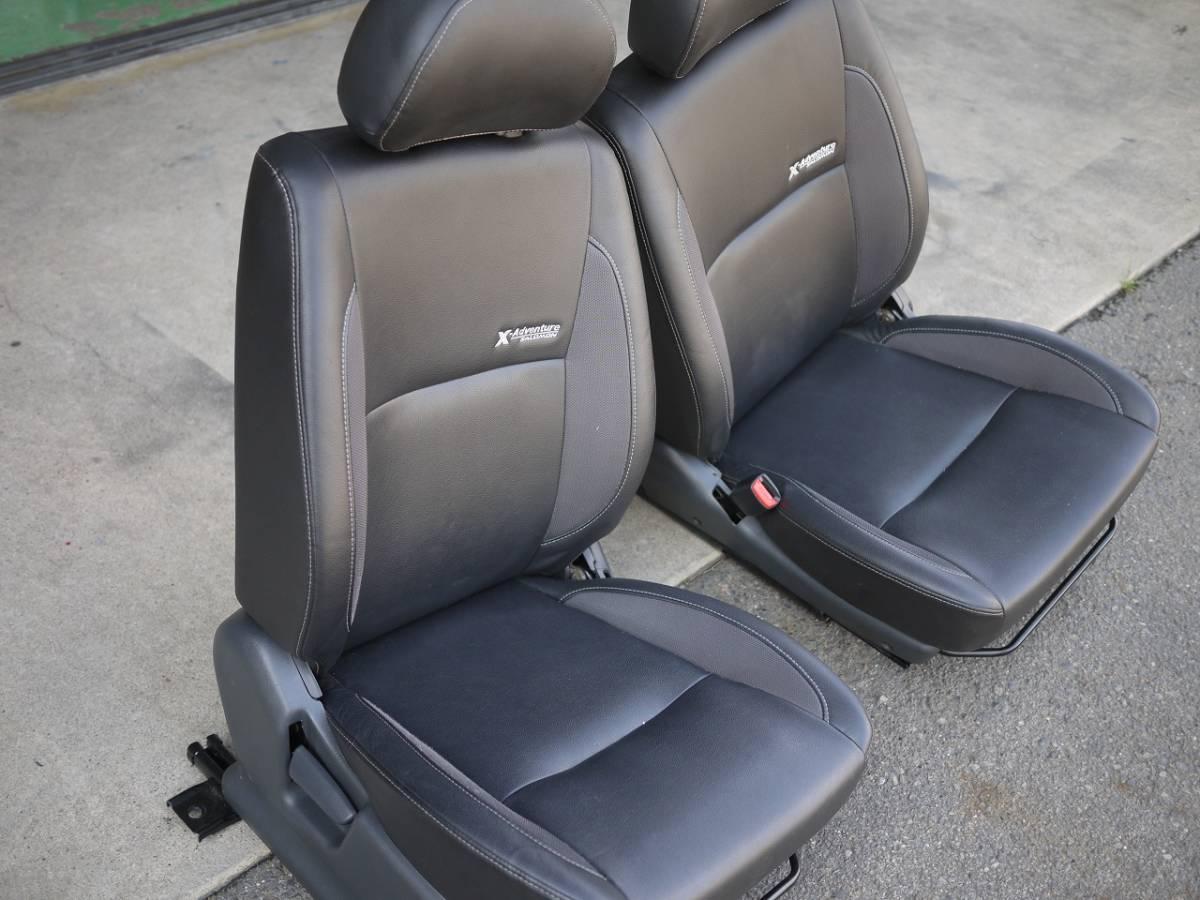 ジムニー JB23W  X-アドベンチャー用 純正シート ヒーター付 運転席、助手席セット 売り切り_画像10