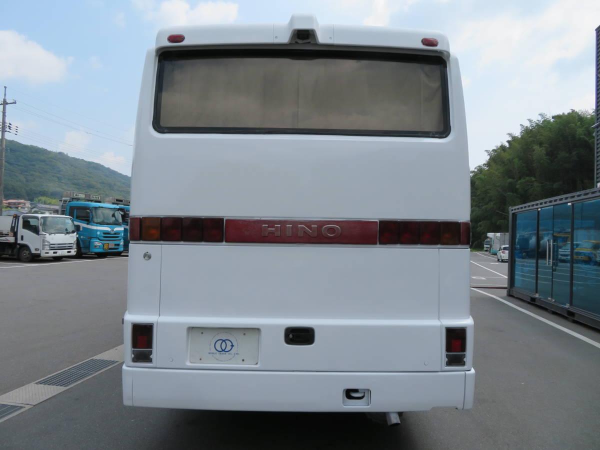 「【29人乗りバス】日野 平成6年式 29人乗り バス 6速MT 冷房・別エンジン シャーシ状態良好!!」の画像3