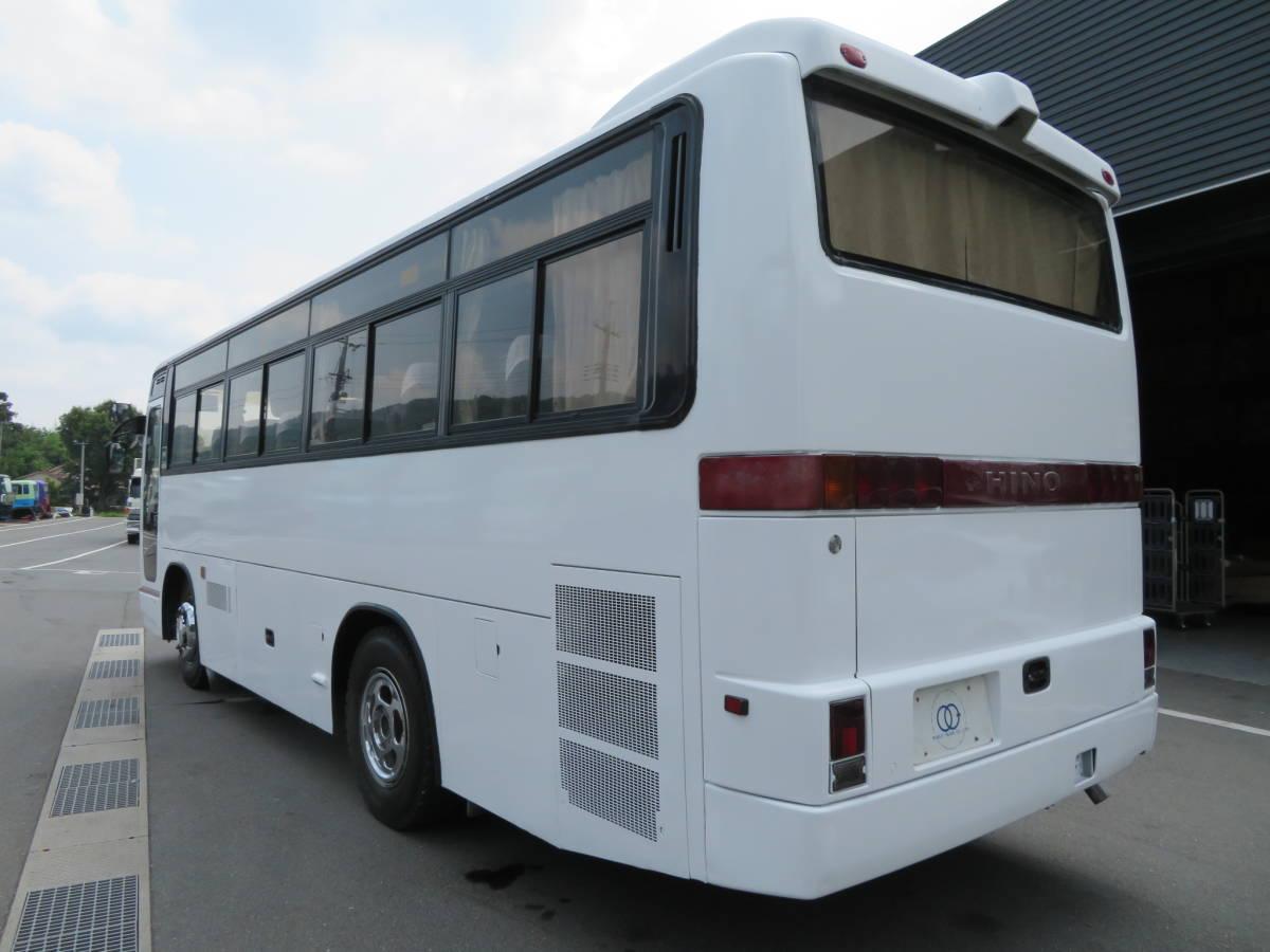 「【29人乗りバス】日野 平成6年式 29人乗り バス 6速MT 冷房・別エンジン シャーシ状態良好!!」の画像2
