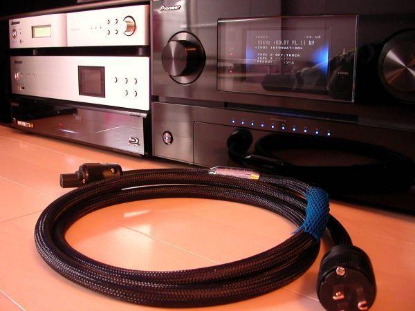 47萬Siltechシルテック 25周年SPX-800 G7電源ケーブル【電4】300