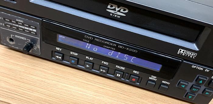 ■Victor BD-X200 業務用DVDレコーダー オーサリングレコーダー ビクター■_画像4